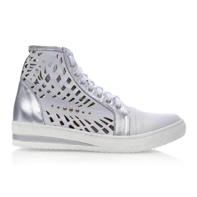 białe buty sneakersy